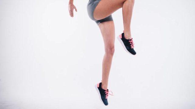 Jumping Athlete Female