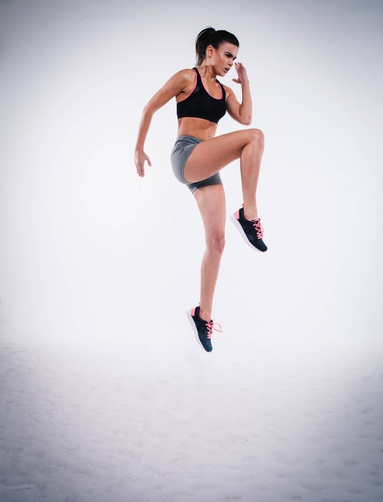 Jumping Athlete Female